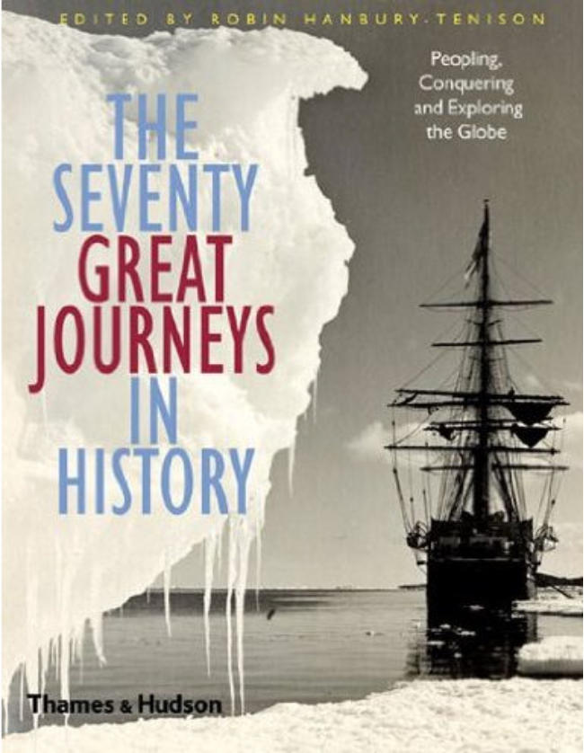 The SEVENTY GREAT JOURNEYS IN HISTORY Book cover